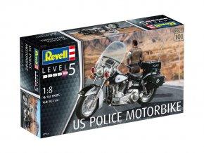 Revell - motorka americké policie, ModelKit 07915, 1/8