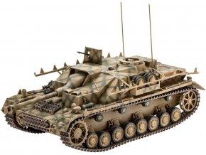 Revell - Sd.Kfz.167 Sturmgeschütz IV - StuG IV, Plastic ModelKit tank 03255, 1/35