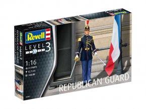 Revell - figurky Republikánská garda, Francie, Plastic ModelKit figurka 02803, 1/16