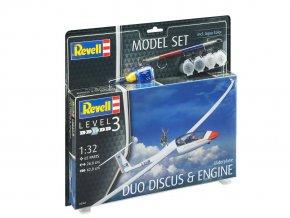 Revell - motorový kluzák Schempp-Hirth Duo Discus, 1/32, ModelSet letadlo 63961
