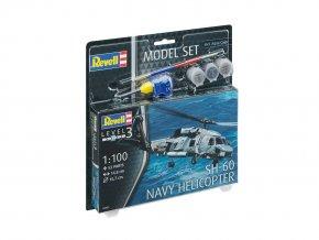 Revell - Sikorsky SH-60 Seahawk, US NAVY, ModelSet vrtulník 64955, 1/100