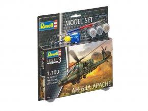 Revell - AH-64A Apache, ModelSet 64985, 1/100