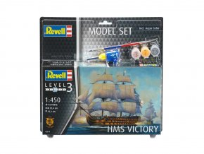 Revell - HMS Victory, ModelSet loď 65819, 1/450