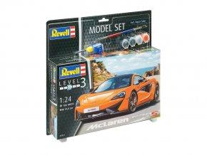 Revell - McLaren 570S, ModelSet 67051, 1/24