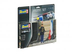 Revell - figurky Republikánská garda, Francie, ModelSet figurky 62803, 1/16