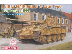 Dragon - Pz.Kpfw.V Ausf.A Panther, Normandie, 1944, Model Kit tank 6168, 1/35