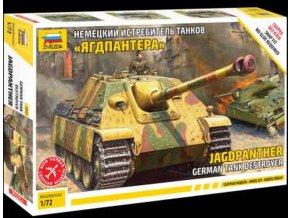 Zvezda - Sd.Kfz.173 Jagdpanther, Wehrmacht, Snap Kit 5042, 1/72
