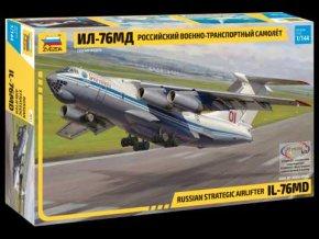 Zvedza - Iljušin Il-76MD Candid, 1/144, Model Kit letadlo 7011