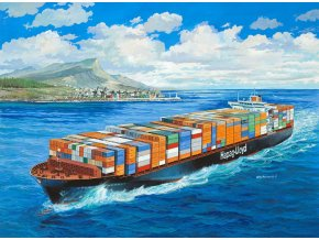 Revell - Container Ship Colombo Express, Plastic ModelKit 05152, 1/700