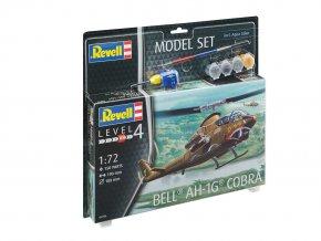 Revell - Bell AH-1G Cobra, 1/72, ModelSet 64956
