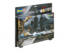 Revell - Černá perla / Black Pearl, Piráti z Karibiku, 1/150 EasyClick ModelSet loď 65499