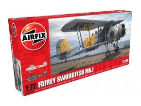 Airfix - Fairey Swordfish Mk.I, RAF, Classic Kit letadlo A04053A, 1/72