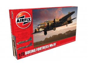 Airfix - Boeing Fortress Mk.III, RAF, 1/72, Classic Kit letadlo A08018