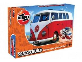 Airfix - Volkswagen Camper Van, Quick Build J6017