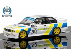 Scalextric - Autíčko BMW E30 M3 Limited Edition, 60th Anniversary Collection, SCALEXTRIC C3829A, 1/32
