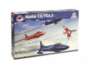 Italeri - Hawker Hunter F.6 / FGA.9, Model Kit letadlo 2772, 1/48