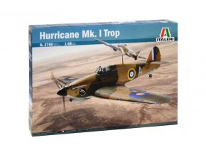 Italeri - Hawker Hurricane Mk.I TROP, Model Kit letadlo 2768, 1/48