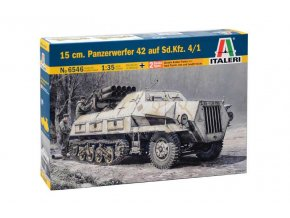 Italeri - Sd.Kfz.4/1 15 cm Panzerwerfer 42 auf Maultier, Model Kit military 6546, 1/35