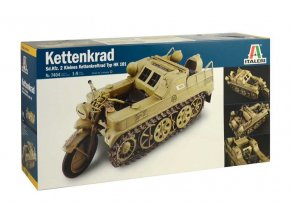 Italeri - Sd.Kfz.2 Kettenkraftrad, Model Kit military 7404, 1/9