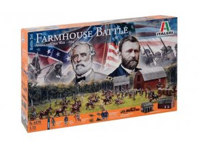Italeri - FARMHOUSE BATTLE - AMERICAN CIVIL WAR 1864 - BATTLESET, Wargames diorama 6179, 1/72