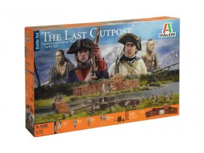 Italeri - THE LAST OUTPOST 1754-1763 FRENCH AND INDIAN WAR, Wargames diorama 6179, 1/72