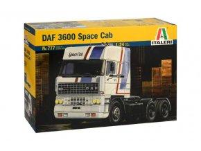 Italeri - tahač DAF 3600 Space Cab, 1/24, Model Kit 0777