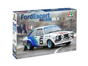 Italeri - Ford Escort RS1800 Mk.II, Model Kit 3655, 1/24
