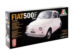 Italeri - Fiat 500 F 1968, 1/12, Model Kit 4703