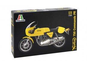 Italeri - motorka Norton 750 Commando, Model Kit 4640, 1/9