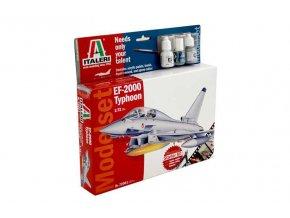 Italeri - Eurofighter Typhoon, Model Set letadlo 72001, 1/72