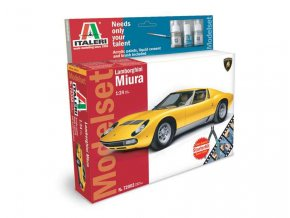 Italeri - Lamborghini Miura, 1/24, Model Set 72002
