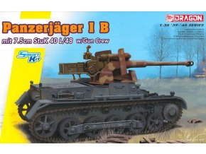 Dragon - Panzerjäger IB mit StuK 40 L/48, Model Kit tank 6781, 1/35