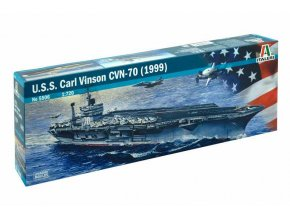 Italeri - letadlová loď USS Carl Vinson CVN-70,1/720, Model Kit 5506