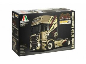 Italeri - tahač Scania R730 Streamline, 1/24, Model Kit 3930