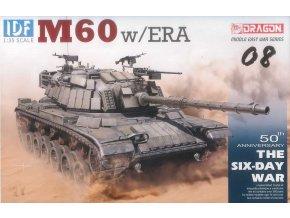 Dragon - M60 Patton s přídaným pancéřováním ERA, Model Kit tank 3581, 1/35