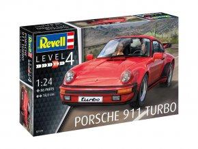 Revell - Porsche 911 Turbo, 1/25, Plastic ModelKit 07179