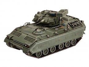 Revell - pásové obrněné vozidlo M2/M3 Bradley, Plastic ModelKit tank 03143, 1/72