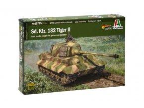 Italeri - Pz.Kpfw.VI Ausf.B Tiger II - Königstiger, Model Kit tank 15765, 1/56