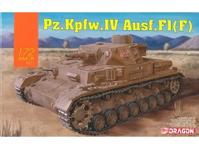 Dragon - Pz.Kpfw.IV Ausf.F1(F), 1/72, Model Kit tank 7560