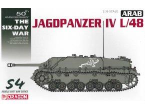Dragon - Sd.Kfz.162 Jagdpanzer IV L/48, Arabská koalice, Šestidenní válka, 1967, Model Kit tank 3594, 1/35