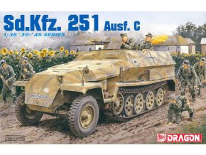Dragon - Sd.Kfz.251/1 Ausf.C ''Hakl'', 1/35, Model Kit military 6187