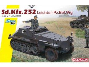 Dragon - Sd.Kfz.252 leichte Gepanzerte Munitionskraftwagen, Model Kit military 6571, 1/35