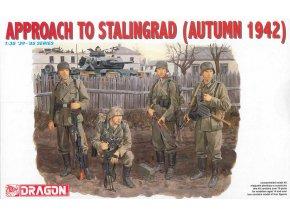 Dragon - figurky Wehrmacht, Bitva u Stalingradu, podzim, 1942, 1/35, Model Kit figurky 6122
