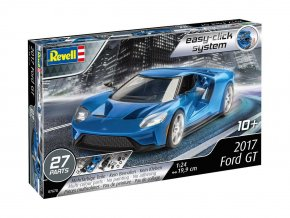 Revell - Ford GT 2017, 1/24, EasyClick auto 07678