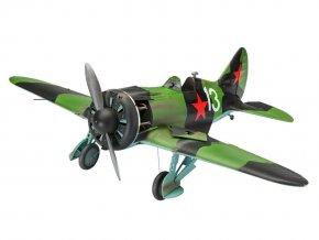 Revell - Polikarpov I-16 type 24  Rata, Plastic ModelKit letadlo 03914, 1/32