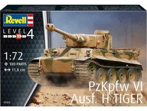 Revell - Pz.Kpfw.VI Ausf.H Tiger I, Plastic ModelKit tank 03262, 1/72