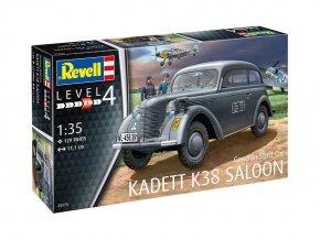 Revell - Opel Kadett K38 Limousine / Saloon, Plastic ModelKit military 03270, 1/35