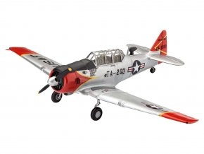 Revell - North American T-6 G Texan, 1/72, ModelSet letadlo 63924