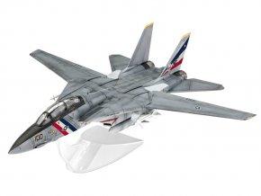 Revell - Grumman F-14D Super Tomcat, ModelSet letadlo 63950, 1/100