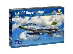 Italeri - North American F-100F Super Sabre, Model Kit letadlo 1398, 1/72
